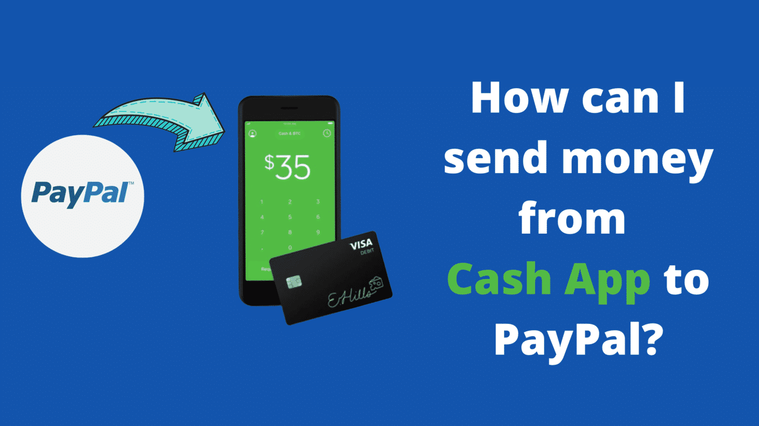 Send Money From Cash App To PayPal