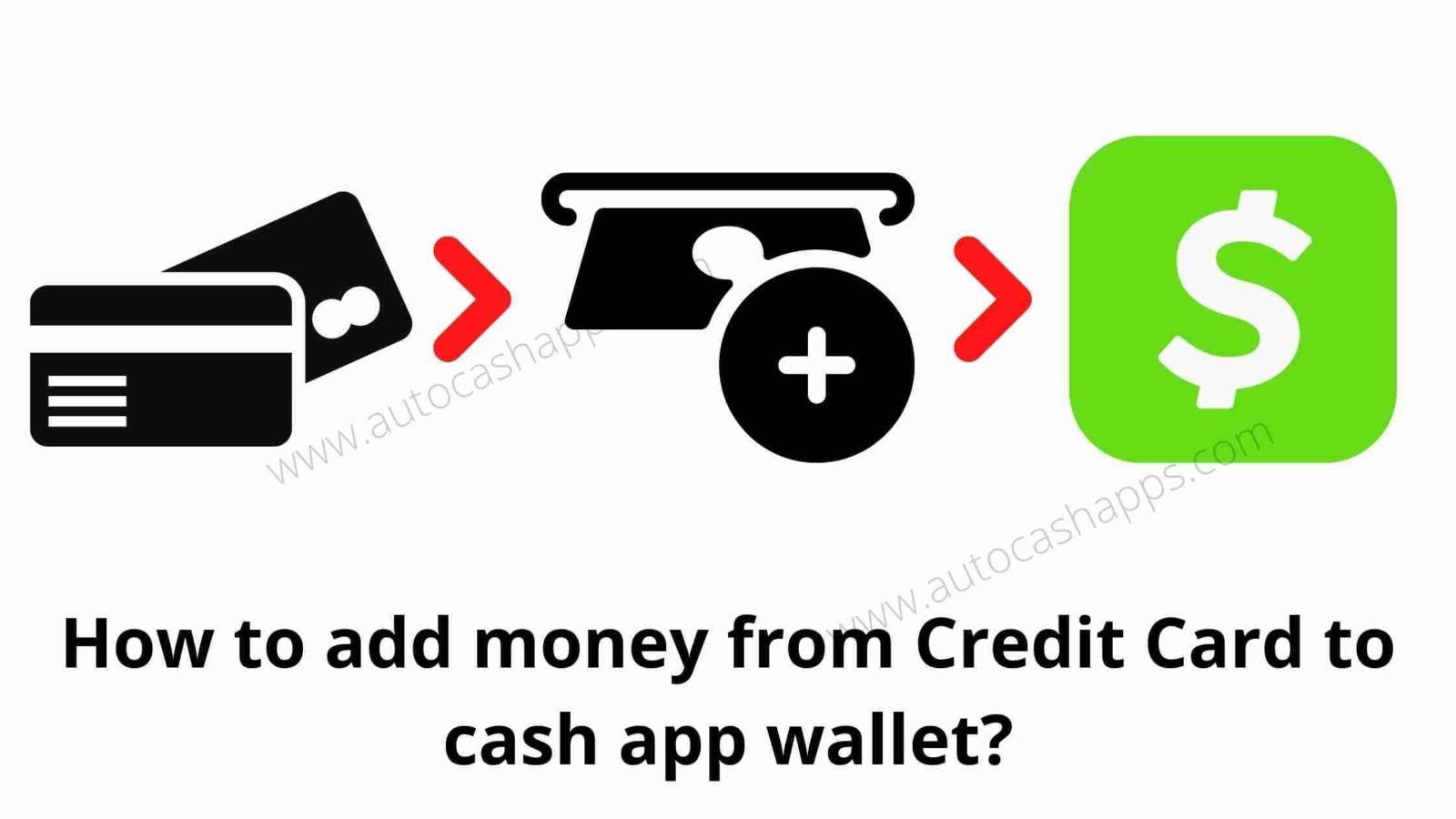 send money from credit card to Cash App wallet