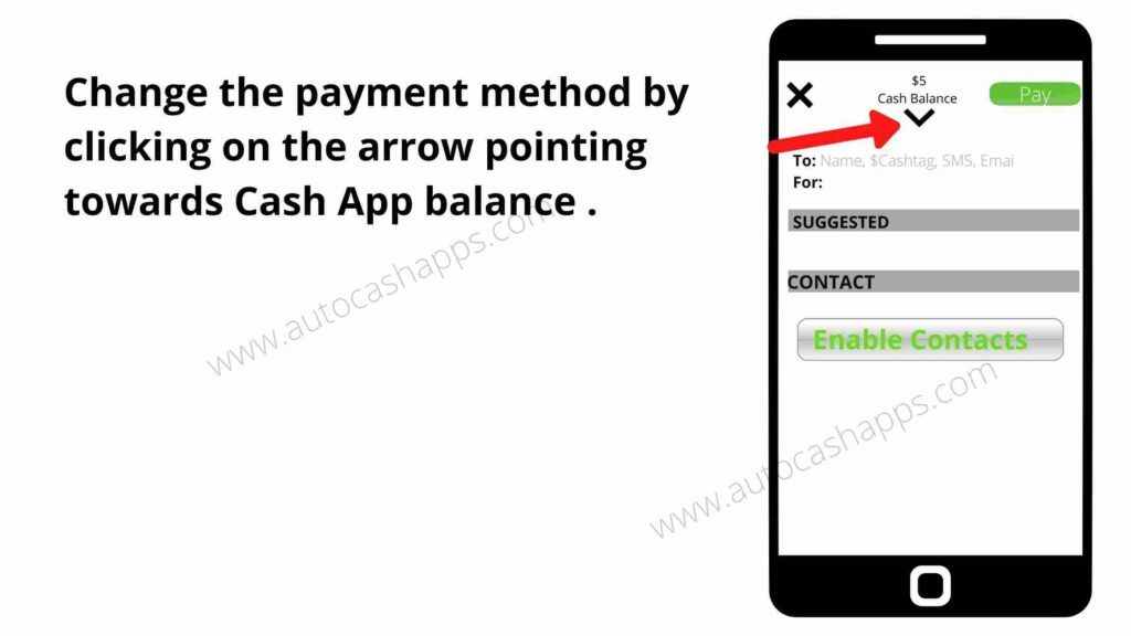 send money with a Credit Card to a Cash App 2