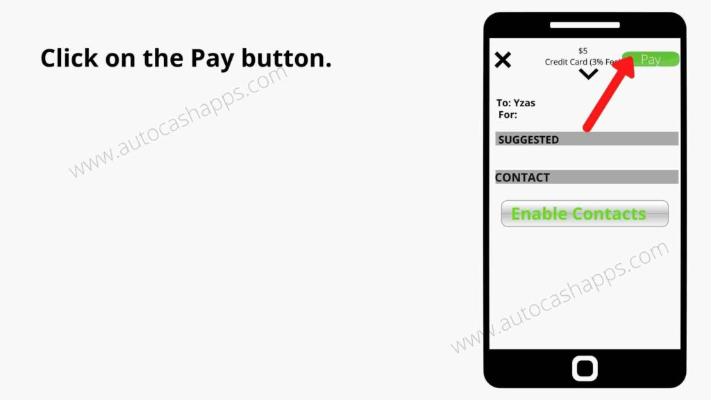 send money with a Credit Card to a Cash App 4