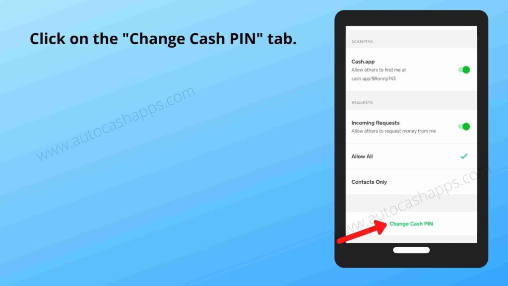 Steps to reset cash app pin (4)