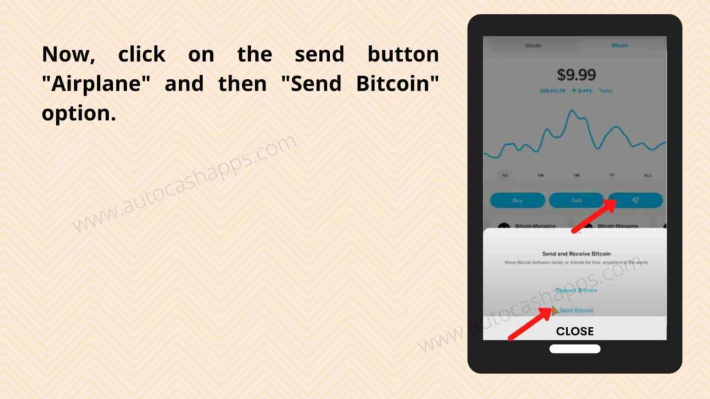 Steps to send bitcoin from Cash app (7)